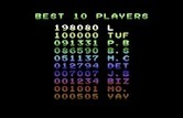 Life Force for Commodore 64 screenshot thumbnail - A new high score!