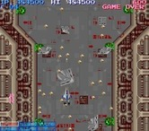 Life Force for Arcade screenshot thumbnail - Numerous bullets and shrapnel appear here...