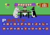 Leaps & Bounds for Atari 8-bit - The panda is having a party.