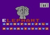 Leaps & Bounds for Atari 8-bit - An elephant.