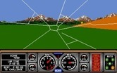 Hard Drivin' for Amiga - Crash! I didn't stay on the road...