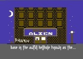 Hotel Alien for Commodore 64 - Outside the Hotel Alien...
