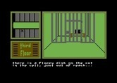 Hotel Alien for Commodore 64 - I found a floppy disk, but it's out of reach.