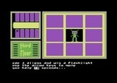 Hotel Alien for Commodore 64 - Play a mini-game to win a flashlight!