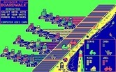Advance to Boardwalk for IBM PC/Compatibles screenshot thumbnail - A computer player uses a card.
