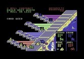 Advance to Boardwalk for Commodore 64 screenshot thumbnail - Computer player uses a card...