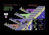 Advance to Boardwalk for Commodore 64 screenshot thumbnail - The computer chooses where to build...