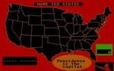 ALF's U.S. Geography for IBM PC/Compatibles screenshot thumbnail - Do you know which state this is?