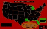 ALF's U.S. Geography for IBM PC/Compatibles screenshot thumbnail - A few right answers, a few wrong ones so far...