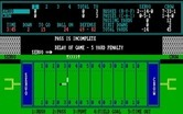 Armchair Quarterback for IBM PC/Compatibles - Delay of game penalty.