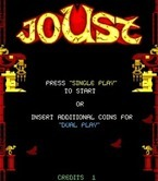 Joust 2: Survival of the Fittest for Arcade - Ready for one player game?