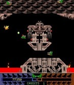 Joust 2: Survival of the Fittest for Arcade - Attempt to hit those red buttons with your lance...