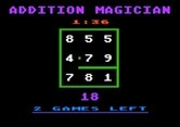 Addition Magician for Apple II screenshot thumbnail - Adding up to 18? That's starting to get trickier...