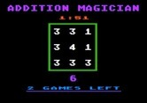 Addition Magician for Apple II screenshot thumbnail - Try to block off numbers so they add up to 6.