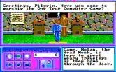 Neuromancer for IBM PC/Compatibles - The house of Pong...the one true computer game!