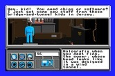 Neuromancer for Apple IIgs - Hey kid, want to buy anything?