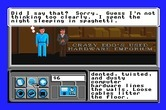 Neuromancer for Apple IIgs - Select a response to a question.