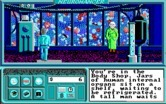 Neuromancer for IBM PC/Compatibles - Visiting the body shop.