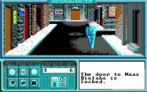 Neuromancer for IBM PC/Compatibles - Wandering the town.