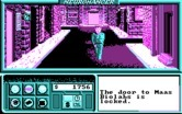 Neuromancer for IBM PC/Compatibles - Wandering the city.