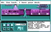 Neuromancer for IBM PC/Compatibles - Getting your deck back; it isn't very good.