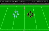 Touchdown Football for IBM PC/Compatibles - The game begins...
