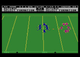 Touchdown Football for Atari 8-bit - Choose the next play...