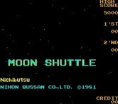Moon Shuttle for Arcade - Title screen.