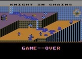 Cycle Knight for Atari 8-bit - Game over.