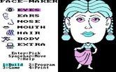 FaceMaker: Golden Edition for IBM PC/Compatibles - Starting the game at the main menu.