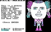 FaceMaker: Golden Edition for IBM PC/Compatibles - Building a brand new character.