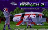 Breach 2 for Amiga screenshot thumbnail - Title screen.