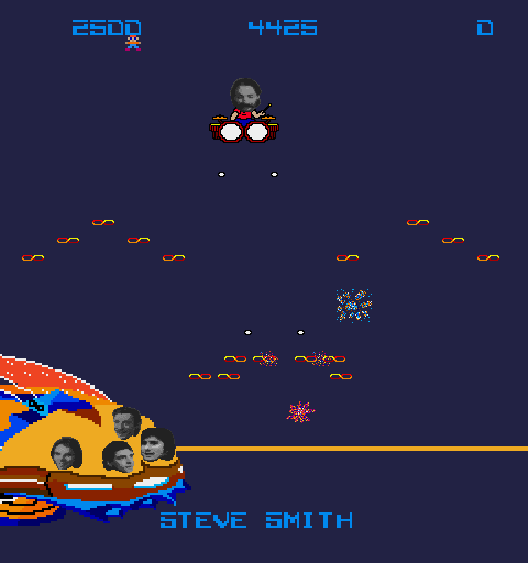 Journey Arcade Screenshot: Now it's time for Steve Smith to escape!