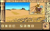 Chrono Quest for Amiga - Who is this arriving in a chariott?