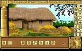 Chrono Quest for Amiga - An interesting looking dwelling, I wonder if anyone is home...