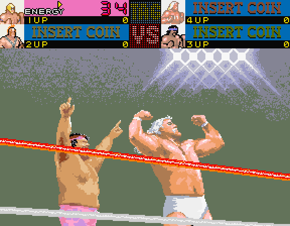 Main Event, The Arcade Screenshot: Here are the winners of the last match...