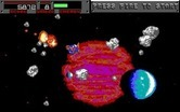 Blasteroids for IBM PC/Compatibles - Each sector has a large number of asteroids to destroy.