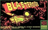 Blasteroids for IBM PC/Compatibles - Title screen.