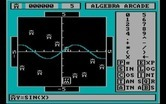 Algebra Arcade for IBM PC/Compatibles - Using a SIN wave to hit some targets.