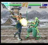 SoulCalibur for Arcade - The next fight in progress...