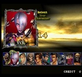 SoulCalibur for Arcade - Select a character...