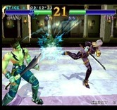 SoulCalibur for Arcade - Attack blocked...