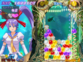 Puzzle! Mushihimetama for Arcade - The rounds get more difficult as you progress through the game...