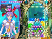 Puzzle! Mushihimetama for Arcade - Don't let things pile up too high!