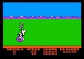 BC's Quest for Tires for Apple II - The bird carries me across the lava...