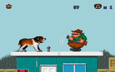 Beethoven: The Ultimate Canine Caper! for IBM PC/Compatibles - Bark at opponents to defeat them...