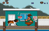 Beethoven: The Ultimate Canine Caper! for IBM PC/Compatibles - Startled a dog catcher!