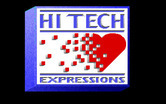 Beethoven: The Ultimate Canine Caper! for IBM PC/Compatibles - Hi-Tech Expressions logo.