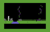 Below the Root for Commodore 64 - Don't fall into the river...