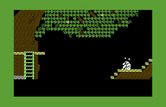Below the Root for Commodore 64 - Ouch, I fell from a branch!